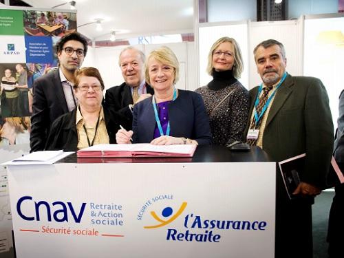 Convention De Partenariat Arefo Et La Cnav Ile De France Visant A