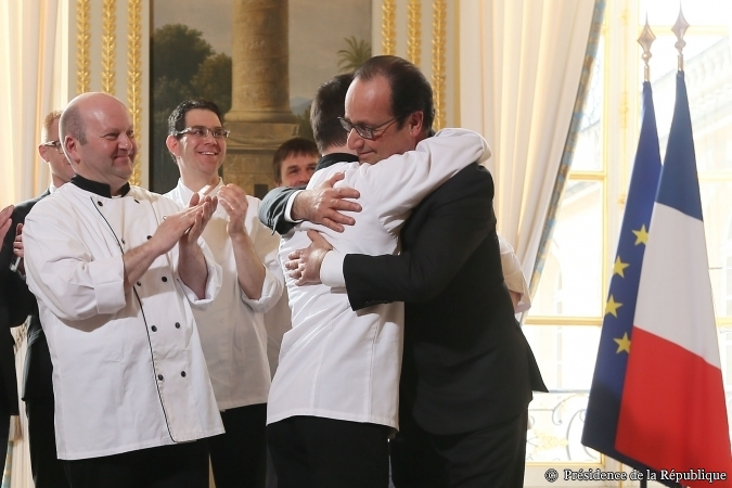 France handicap info for Cuisinier elysee livre