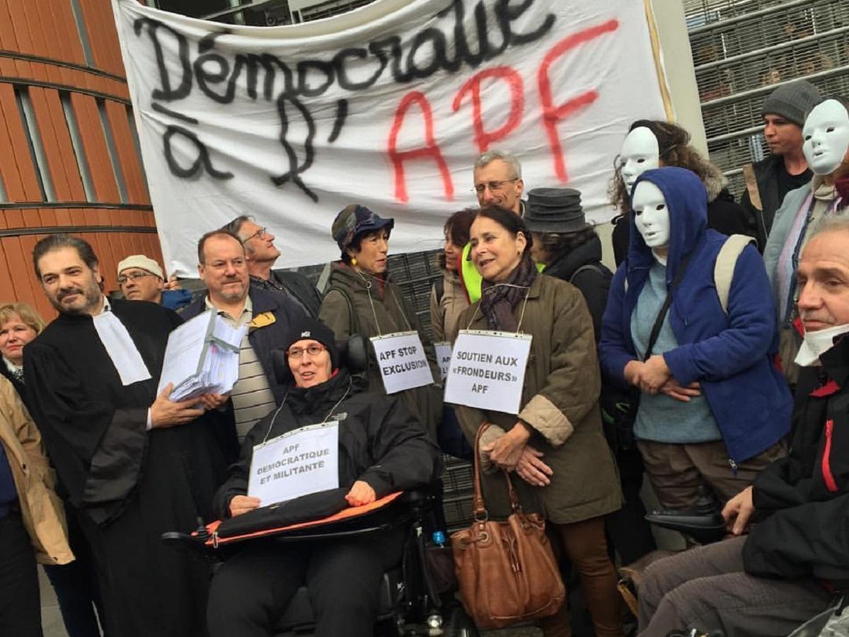 """APF : Le tribunal se déclare incompétent, Odile MAURIN fait appel et les """" frondeurs """" déposent une motion"""