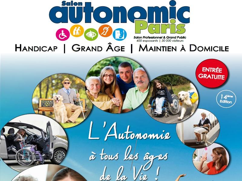 Ouverture du salon autonomic pour trois jours a paris pour for Salon autonomic paris