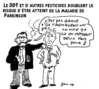 pesticides doublent maladie parkison