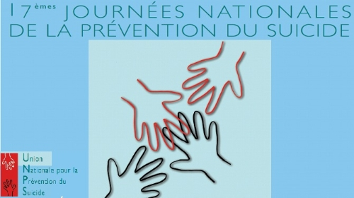 affiche partiel de la 17eme journée nationale de la prevention du suicide