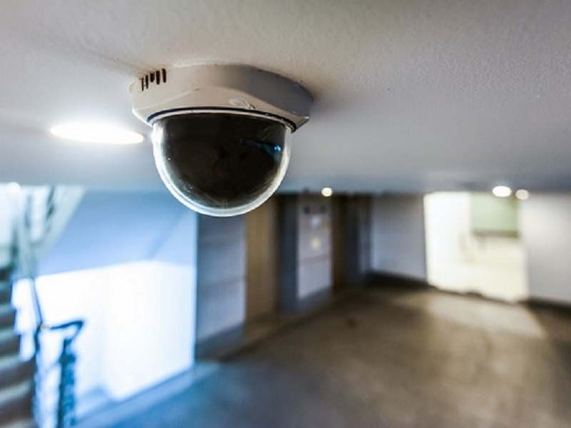 camera video surveillance dans un etablissement