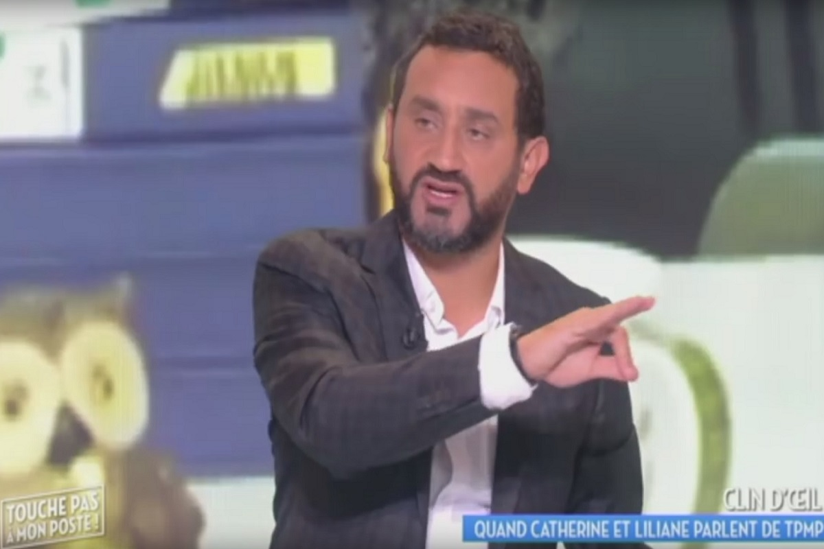 Capture ecran de l emission Touche pas a mon poste animee par Cyril Hanouna dans l emission du 20 septembre 2016