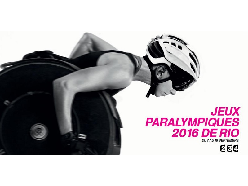Retransmission des Jeux Paralympique sur France Television en France