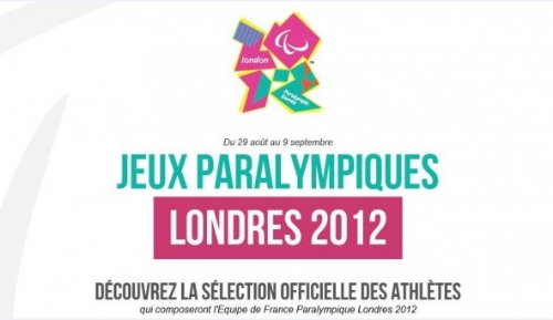 Logo officiel de l'équipe de France Paralympique