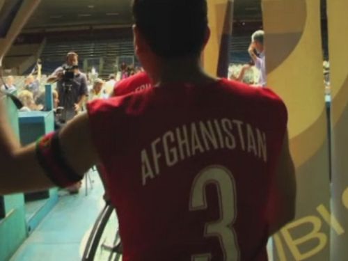 Match basket fauteuil Afghanistan-Italie